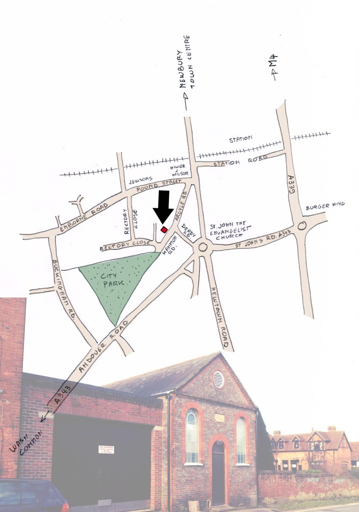 map city arts