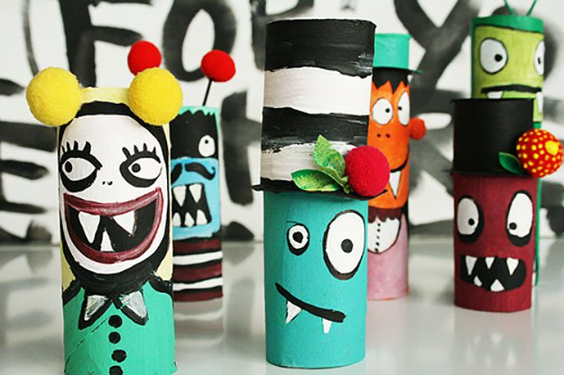 Diy Projects How To Make Kids Crafts With Toilet Paper Rolls 17