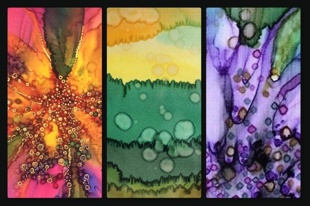 November Calendar Art For Kids : Steam fix silk painting with helen mortimer « city arts