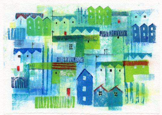 Collage Paint & Print