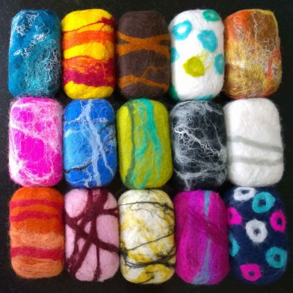 Felted Soaps 1