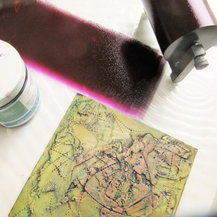 pam hardman viscosity inks and collagraph