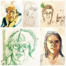 isa collage portraits