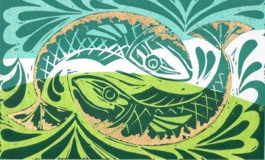 lino in colour fish335